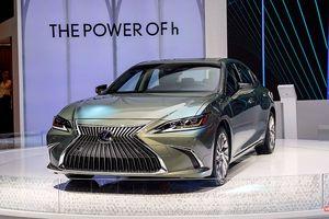 Lexus ES300h 2019 chọn VMS 2018 để ra mắt, rất nhiều thứ mới, đáng quan tâm