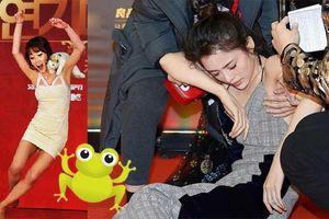Phì cười trước những pha 'vồ ếch' của mỹ nhân trên thảm đỏ