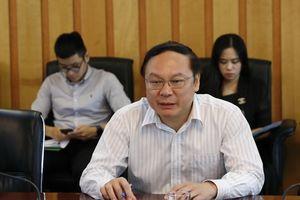 Thứ trưởng Bộ TN&MT Lê Công Thành tiếp Đoàn chuyên gia của Ủy hội sông Mê Công quốc tế