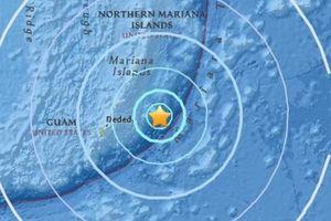 Đảo Bắc Mariana rung chuyển bởi trận động đất mạnh 6,2 độ richter