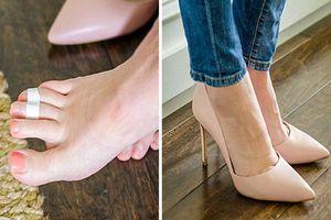 Thuộc lòng 10 thủ thuật đơn giản này, bạn sẽ quên đi cơn đau chân dù đi giày cao gót suốt cả ngày dài