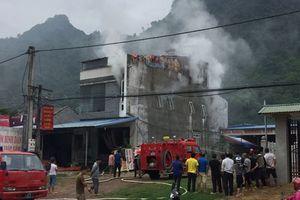 Bà hỏa thiêu rụi căn nhà ở Thái Nguyên, thiệt hại hàng trăm triệu đồng