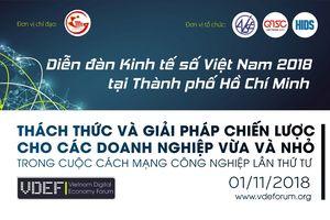 Sắp diễn ra VDEF 2018 tại TP. Hồ Chí Minh