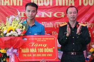 Viettel Phú Thọ tổ chức khánh thành và bàn giao nhà tình nghĩa theo chương trình 'Ngôi nhà 100 đồng'