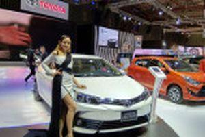 VIDEO  Gian hàng của Toyota Việt Nam với loạt xe đang 'gây bão'