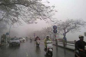 Miền Bắc mưa lạnh, Hà Nội thấp nhất 20 độ C