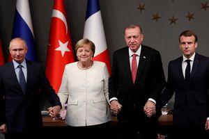 Lãnh đạo Nga, Đức, Pháp, Thổ Nhĩ Kỳ nhất trí về vấn đề Syria