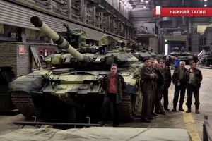 Chiến xa T-90s sẽ được trang bị giáp phản ứng nổ nội địa?