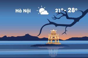 Thời tiết ngày 28/10: Hà Nội se lạnh, Sài Gòn nắng nóng 34 độ C
