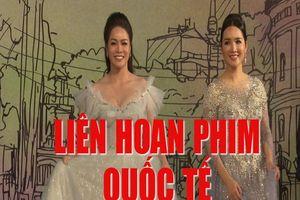 Clip: Dàn sao Việt lộng lẫy sải bước trên thảm đỏ Liên hoan phim Quốc tế Hà Nội lần thứ V
