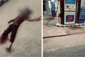 Điều tra vụ nam thanh niên đầy thương tích, nằm bất động ở cây xăng