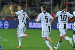 Ronaldo tỏa sáng, Juventus ngược dòng hạ Empoli