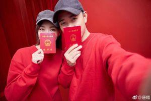 Trước thềm hôn lễ, Đường Yên - La Tấn khoe ảnh cưới ngọt ngào