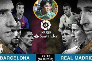 Diễn viên Hậu duệ mặt trời: 'Có thẻ đỏ, Real đánh bại Barca'