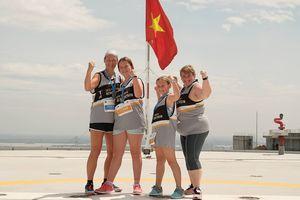 Hào hứng cuộc thi chạy thang bộ lên tòa nhà cao nhất TP.HCM