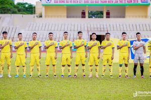 HLV Nguyễn Văn Tiến dẫn dắt U21 SLNA chinh phục VCK U21 Quốc gia