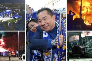 Rơi máy bay, tỷ phú người Thái, chủ tịch Leicester City được cho là tử nạn