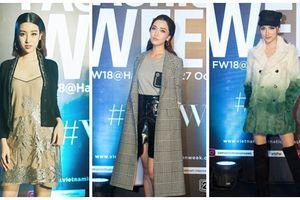 Thảm đỏ VIFW ngày cuối: Diệp Linh Châu váy xẻ hớ hênh - Hương Giang Idol làm 'cô bé mùa đông' giữa trời thu