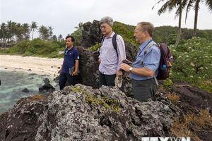 Hoàn thiện hồ sơ công nhận Lý Sơn là Công viên địa chất toàn cầu