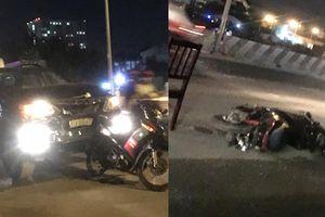 'Ô tô điên' liên tiếp tông xe máy và ba gác, 5 người bị thương nặng