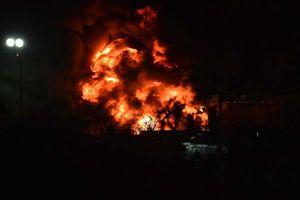 Phút kinh hoàng trực thăng chủ tịch Leicester City rơi, chìm trong lửa
