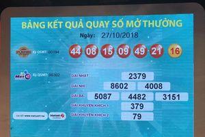 Jackpot 1 gần 100 tỉ của xổ số Vietlott đã có người 'rinh'
