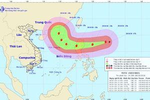 Khẩn trương ứng phó siêu bão Yutu giật trên cấp 17 gần Biển Đông