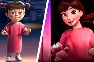 Các nhân vật hoạt hình được yêu thích sẽ trông như thế nào khi trưởng thành?