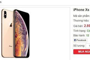 iPhone XS Max hàng nhái, giá dưới 3 triệu đồng