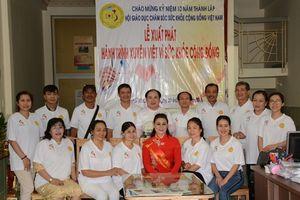 Hành trình xuyên Việt vì sức khỏe cộng đồng