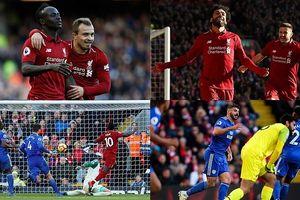 Toàn cảnh Liverpool 4-1 Cardiff City: The Kop soán ngôi của Man City