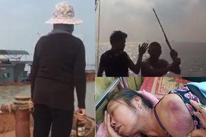 Cuộc đụng độ gay cấn của những nữ ngư dân với cát tặc trên biển Hải Phòng