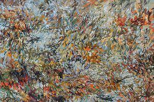 Chiêm ngưỡng 'Vũ điệu sắc màu' của họa sĩ Hoàng Định và Somsak Chaituch