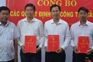 Nhân sự mới tại hai tỉnh Long An, Quảng Ninh