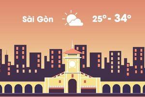 Thời tiết ngày 29/10: Hà Nội, Sài Gòn nắng đẹp và tạnh ráo
