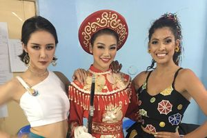 Phương Khánh giành giải vàng vòng thi trang phục dạ hội Miss Earth