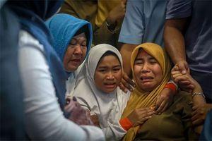 Indonesia tuyệt vọng tìm người sống sót trong tai nạn máy bay Lion Air
