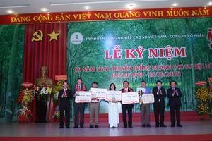 Kỷ niệm 89 năm Ngày truyền thống Ngành Cao su Việt Nam