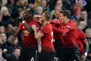 Martial lại lập công, Manchester United thắng Everton để leo lên vị trí thứ 8