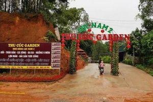Phú Thọ: Yêu cầu tháo dỡ khu sinh thái trái phép trong đền Hùng