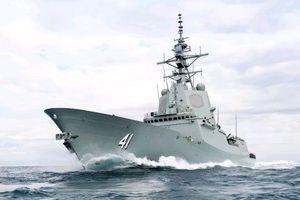 Australia đưa vào hoạt động tàu khu trục đời mới