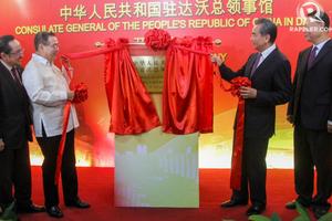 Trung Quốc chính thức mở tổng lãnh sự quán tại Davao, Philippines