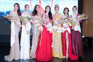 Huỳnh Vy đăng quang 'Hoa hậu Du lịch thế giới 2018'