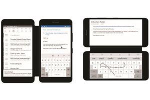 Microsoft hướng đến smartphone hai màn hình
