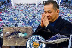 CĐV muốn dựng tượng, quỳ tiễn đưa Chủ tịch Leicester về nơi an nghỉ
