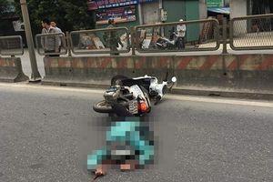 Người phụ nữ nước ngoài tử vong sau va chạm với container