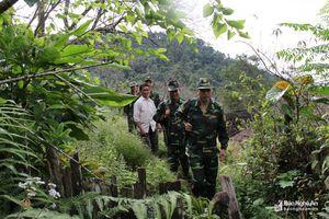 Một ngày tuần tra bảo vệ đường biên, cột mốc