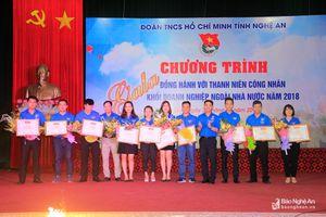 Gala đồng hành với thanh niên công nhân khối doanh nghiệp ngoài nhà nước