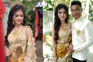 Thấy chú rể Sóc Trăng cưới vợ Khmer xinh như hoa, ngàn chàng trai F.A than trời