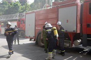 Hà Nội: Chập cháy hộp điện dẫn đến hỏa hoạn ở tòa nhà Dầu khí Việt Nam